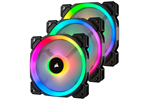 CO-9050072-WW - Corsair LL120 RGB Dual Light 3-pack + Node PRO - Gehäusekühler - 120 mm - 24 dBA