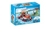 9435 - Playmobil Action - Dino Hovercraft with Underwater Motor