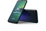 PAGE0011NL - Motorola Moto G8 Plus 64GB - Graphene Blue Gradient