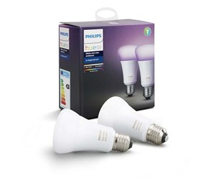 929001257363 - Philips Hue Color E27-Lichtquelle - Richer Colors - 2er Pack