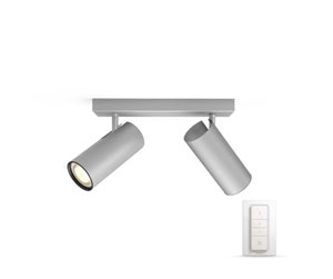 915005515601 - Philips Hue Buratto Bar/Tube 2 x 5,5 W Spot - Alu
