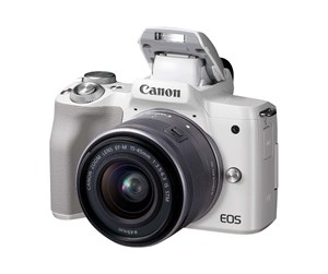 2681C012 - Canon EOS M50 15-45mm IS STM - White