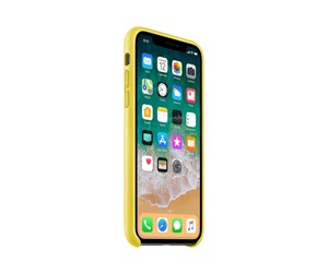 MRGJ2ZM/A - Apple iPhone X Leather Case - Spring Yellow