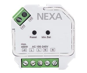 86816 - NEXA ZV-9101 Z-Wave dos dimmer adjustable lowest