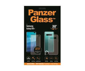PANZERB7176 - PanzerGlass Samsung Galaxy S10 Plus (CaseFriendly) - w/ Protective Cover