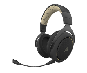 CA-9011210-EU - Corsair HS70 PRO Wireless Gaming Headset - Cream - Schwarz