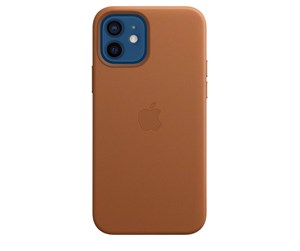 MHKF3ZM/A - Apple iPhone 12 | 12 Pro Leather Case with MagSafe - Saddle Brown