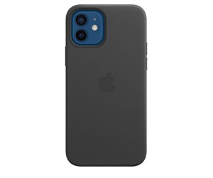 MHKG3ZM/A - Apple iPhone 12 | 12 Pro Leather Case with MagSafe - Black