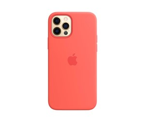 MHL03ZM/A - Apple iPhone 12 | 12 Pro Silicone Case with MagSafe - Pink Citrus