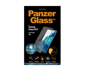 PANZER7243 - PanzerGlass Samsung Galaxy S20 FE (AntiBacterial - Case Friendly) - Black