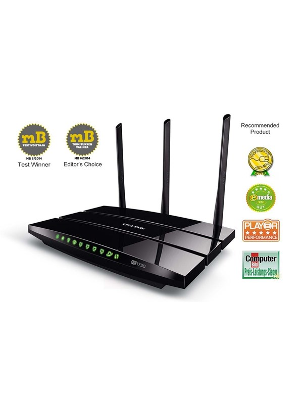 TP-Link Archer C7 AC1750 Wireless Router Wi-Fi 5