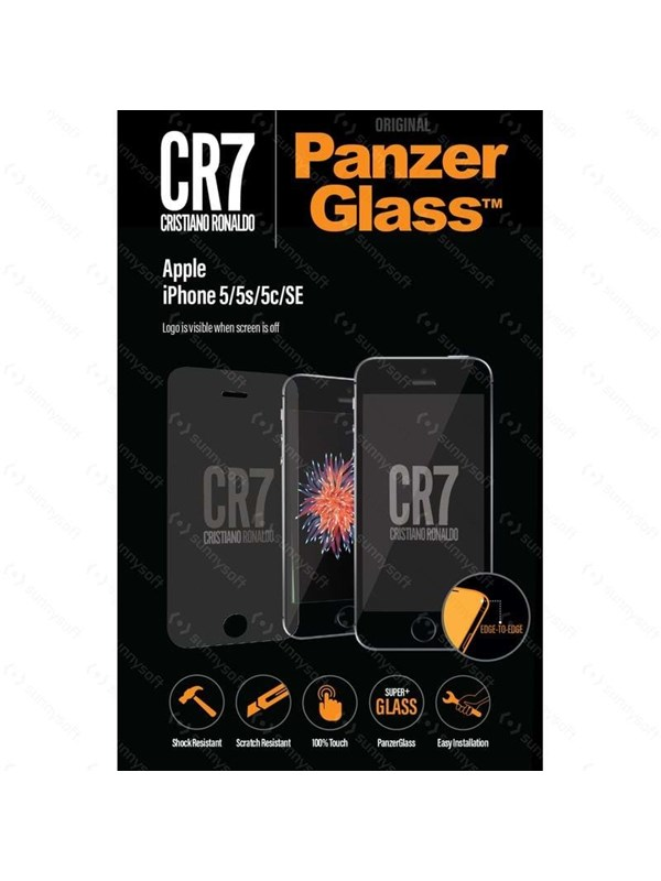 PanzerGlass Apple iPhone 5/5s/5c/SE - CR7 PANZER9011