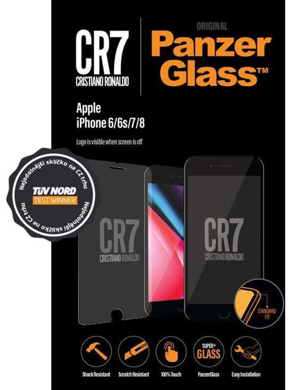 PanzerGlass Apple iPhone 6/6s/7/8 - CR7 PANZER9012