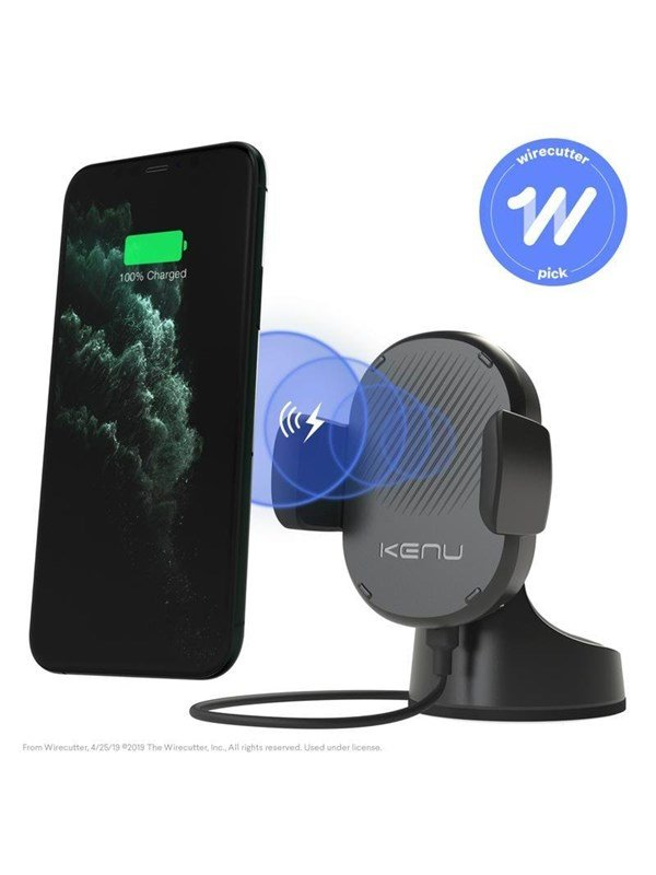 Kenu AIRBASE PRO WIRELESS FAST CHARGING QI BLACK ABW1-KK-NA