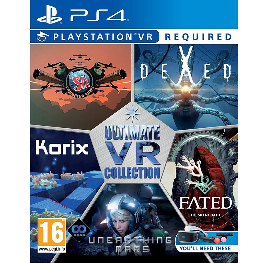 VR Collection (VR) - Sony PlayStation 4 - Virtual Reality