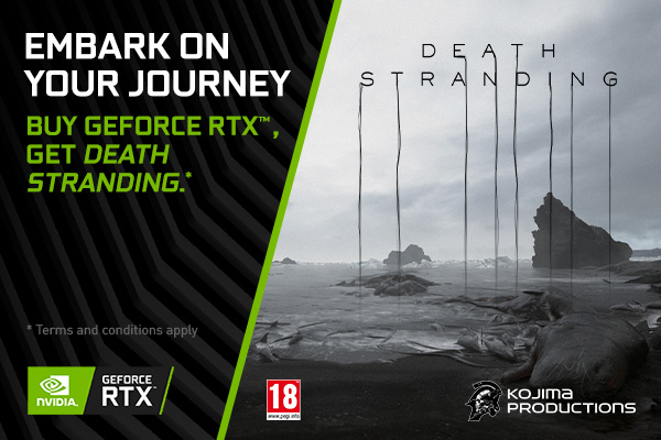 NVIDIA DEATH STRANDING RTX BUNDLE